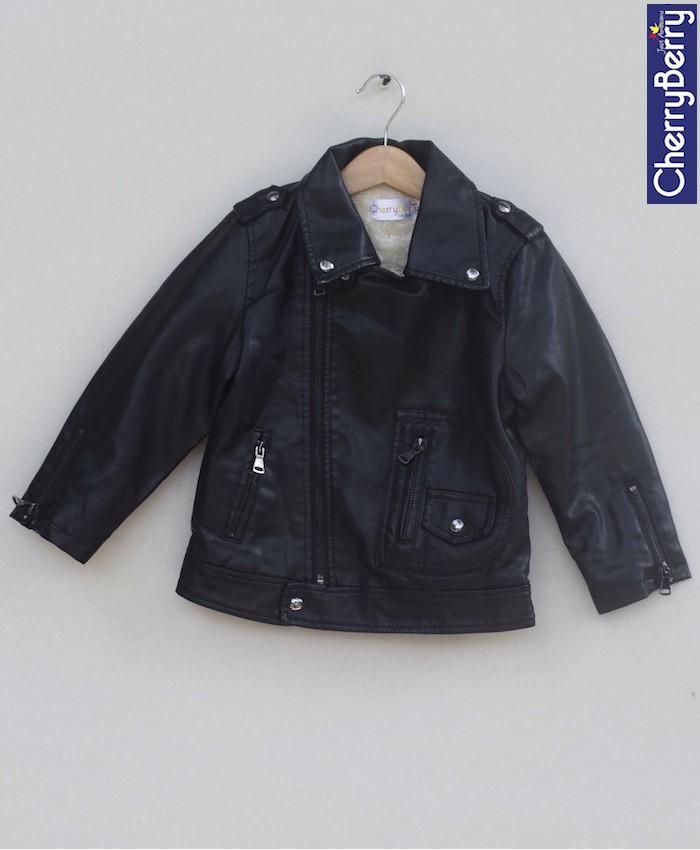 Unisex leather Jacket (W18J04)