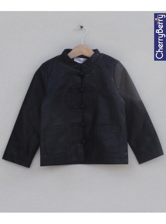 Unisex leather Jacket (W18J06)