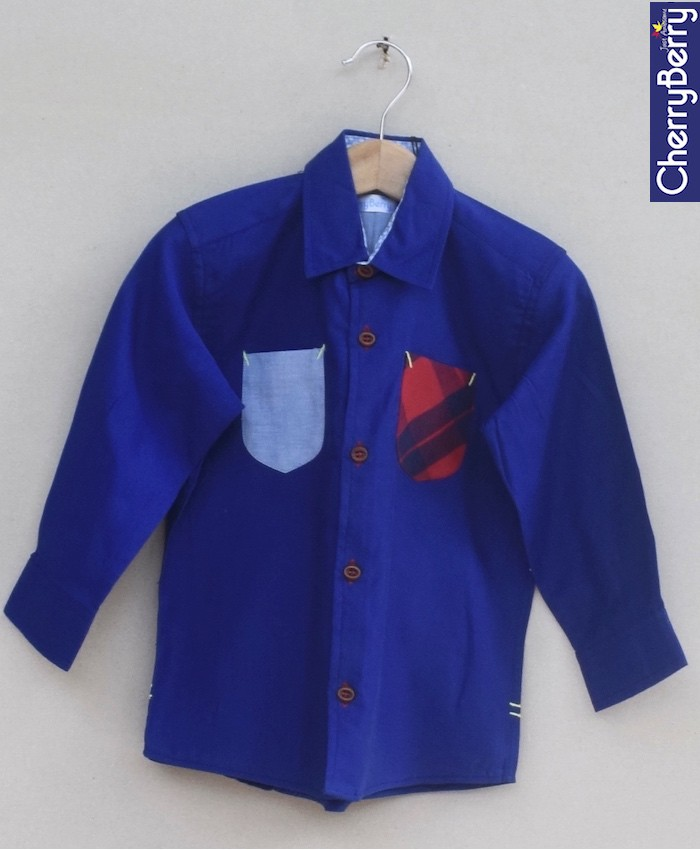 Boys Cotton Shirt (W18S07)