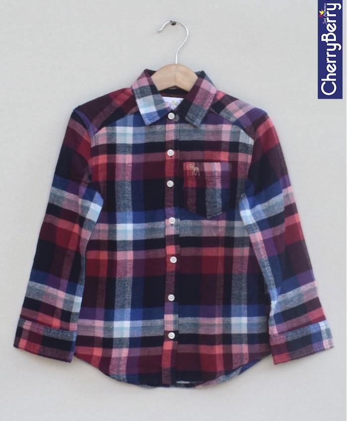 Boys Check flannel Shirt