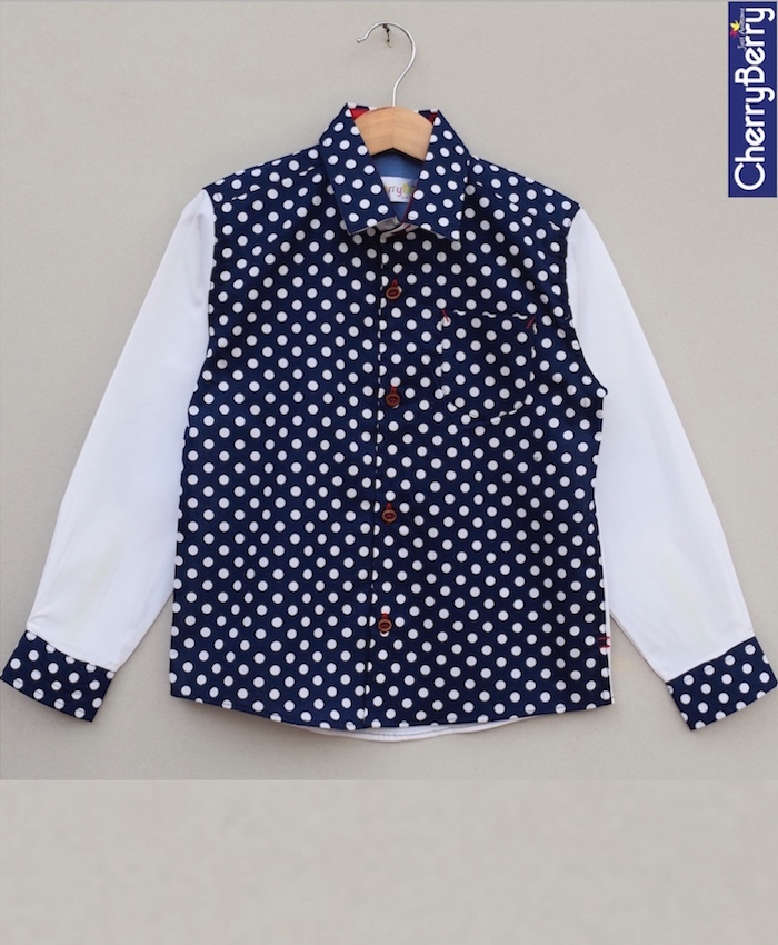 Boys Cotton Shirt (W18S06)