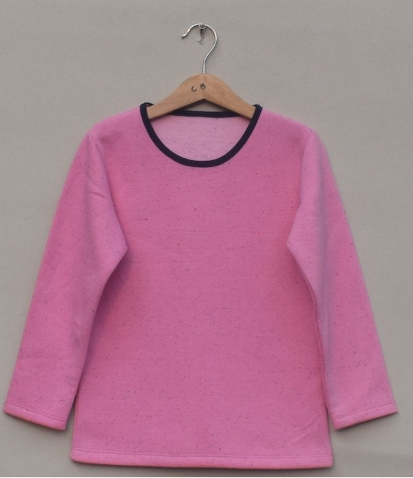 Baby girl Fleece T-shirt (W18G62)