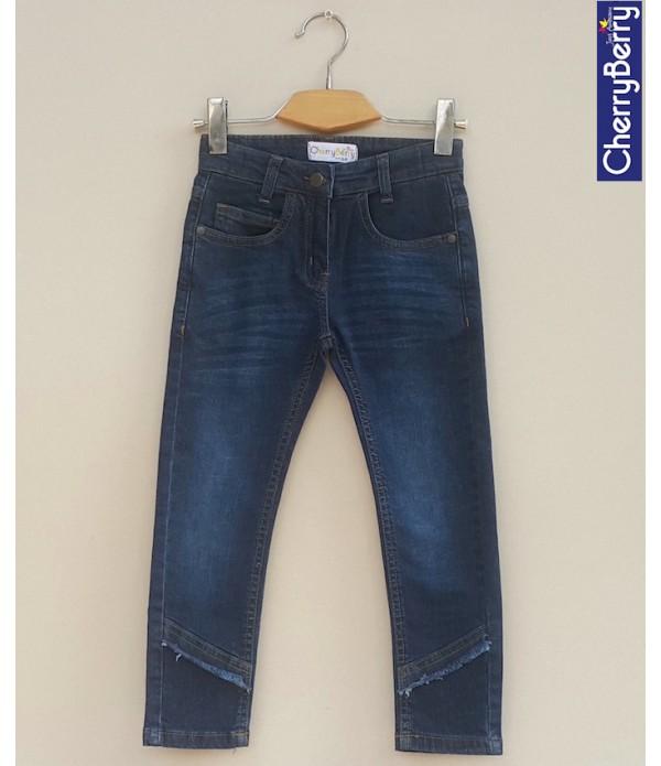 Girls stretch Denim Jean (W18D03)