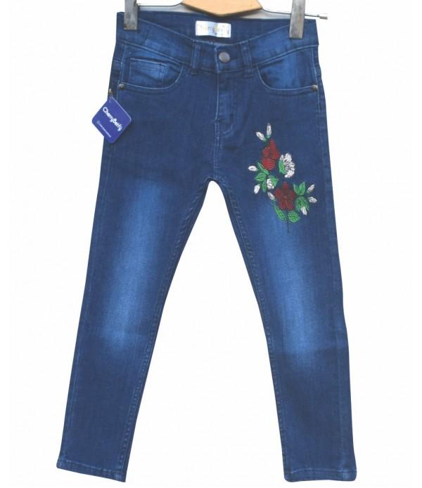 Girls stretch Denim Jean (W18D04)