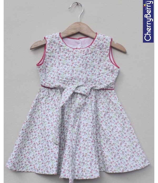 Baby Girls cotton Frock (W18F09)