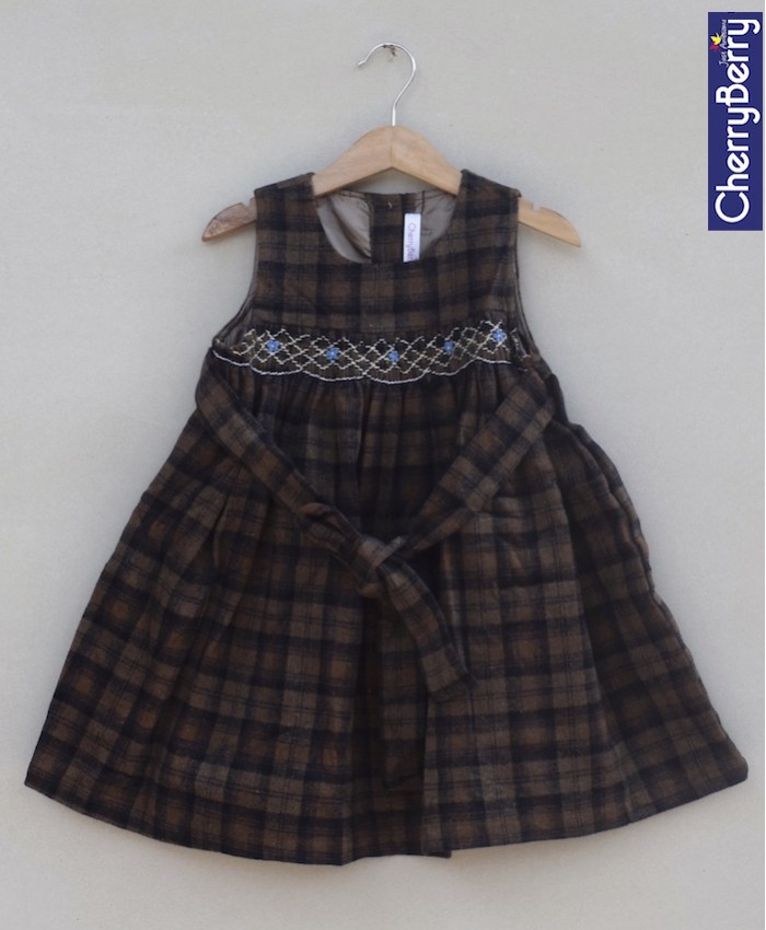 Girl Tweed Frock