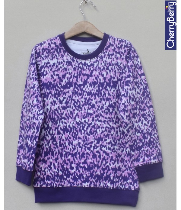 Baby Girls Printed sweatshirt (W19G01)