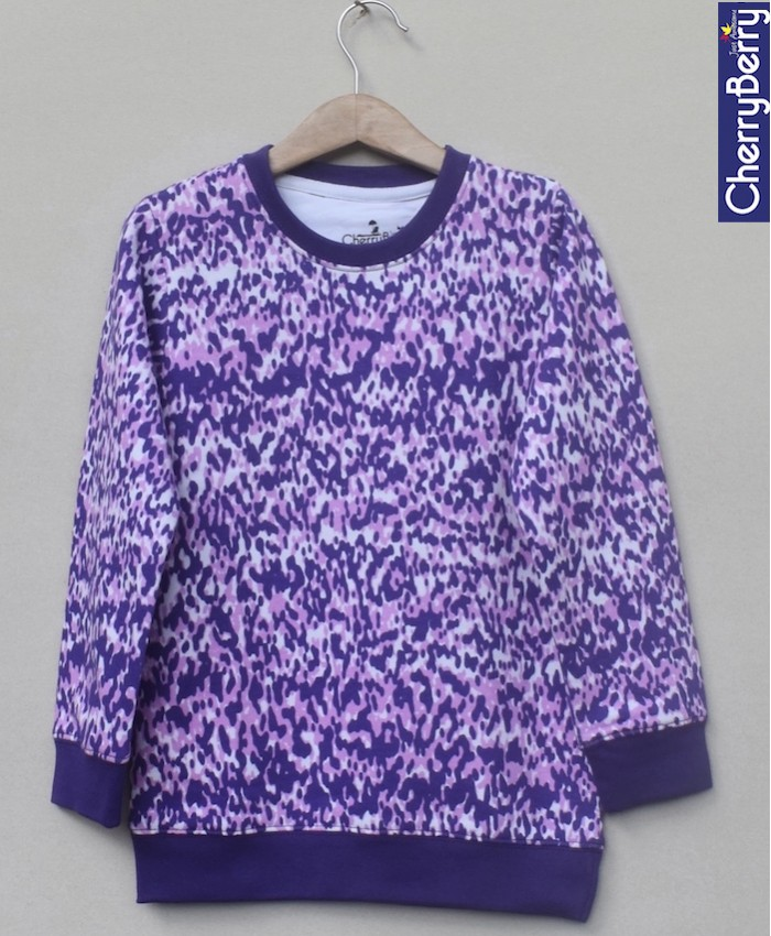 Baby Girls Printed sweatshirt (W18G01)