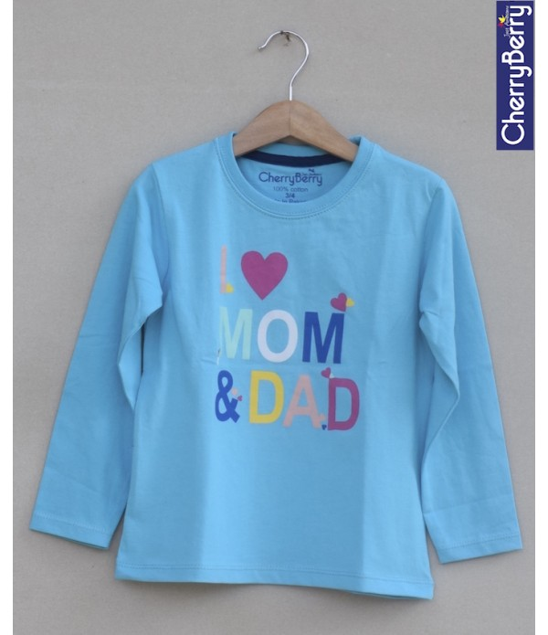 Baby Girls Printed t-shirt (W19G22)