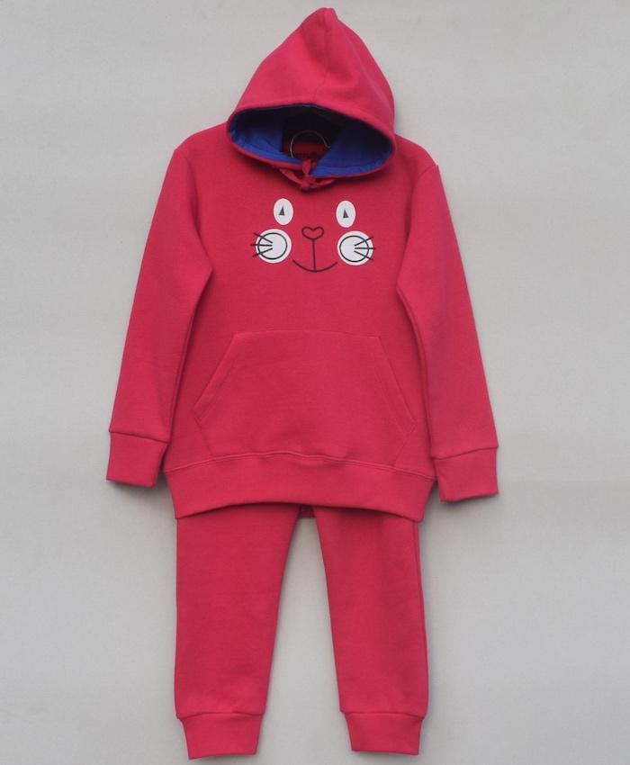 Girls Printed Sweatsuit (W18G60)