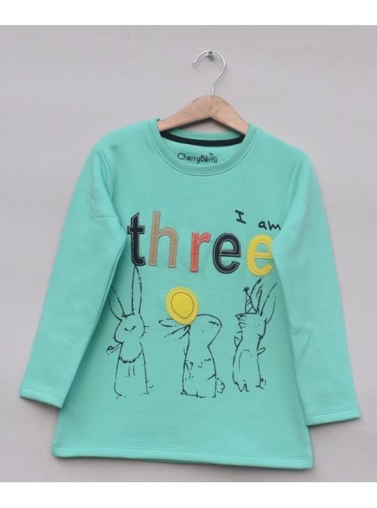 Girls fleece shirt (W18G61)