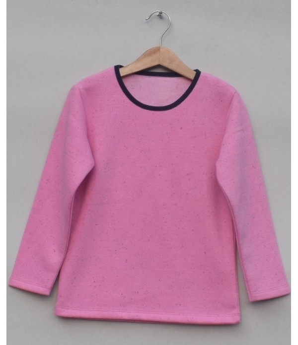 Baby Girls fleece undershirt (W19G62)
