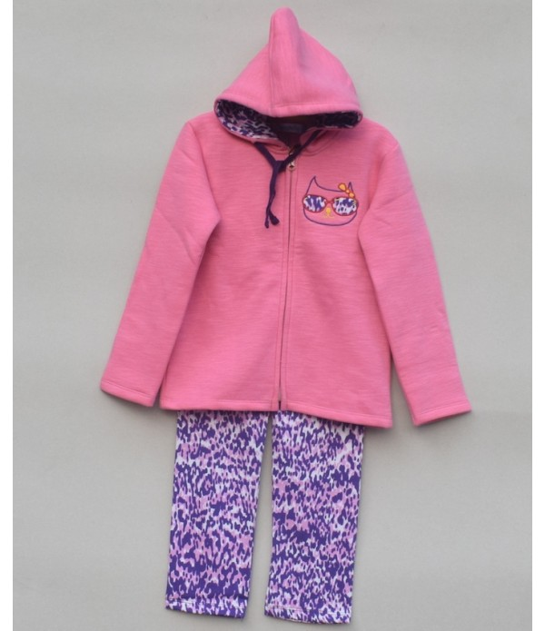 Baby Girls Printed Sweatsuit (W19G64)