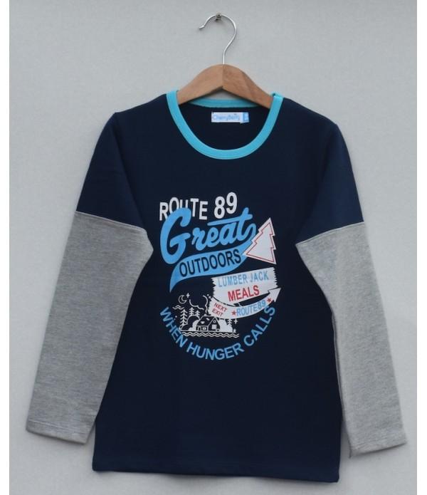 Kids Printed t-shirt (W19B06)