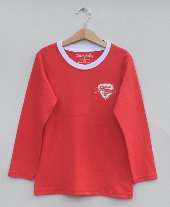 Kids Printed t-shirt (W19B11)