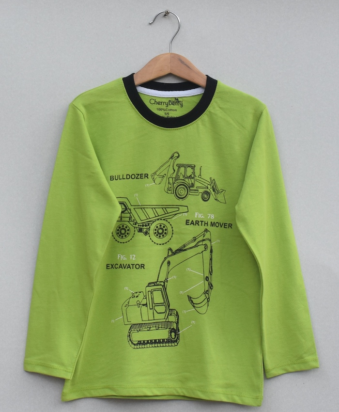 Kids Printed t-shirt (W19B16)