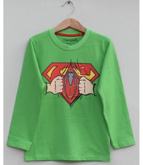 Kids Printed t-shirt (W19B25)
