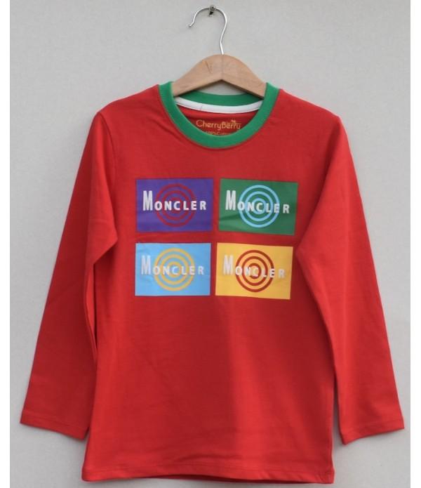 Kids Printed t-shirt (W19B28)