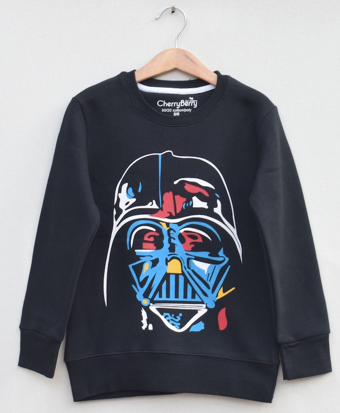 Boys Printed Sweatshirt (W19B32)