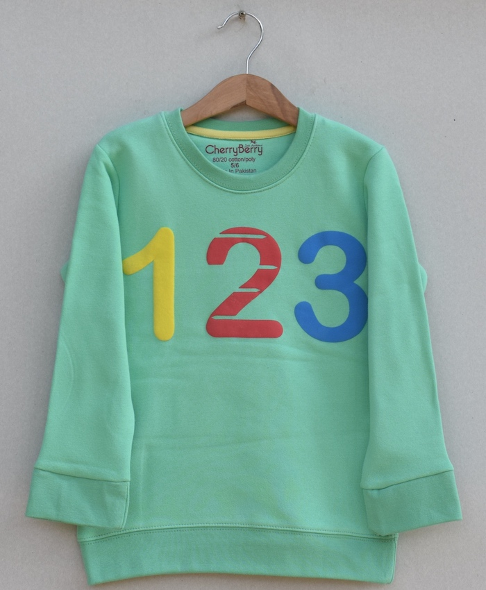 Kids Printed sweatshirt(W19B35)