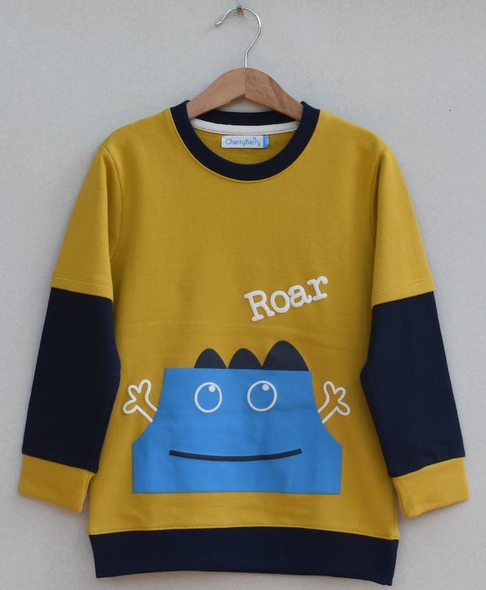Kids Printed sweatshirt (W19B36)