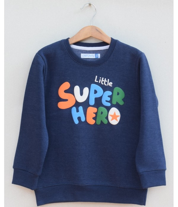 Kids Printed sweatshirt(W19B37)
