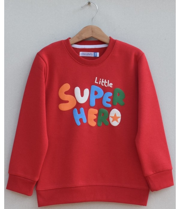 Kids Printed sweatshirt(W19B38)