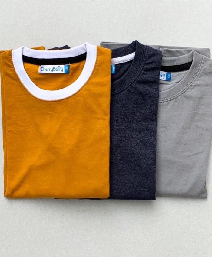Kids under shirt pack of 3 (W19B39)