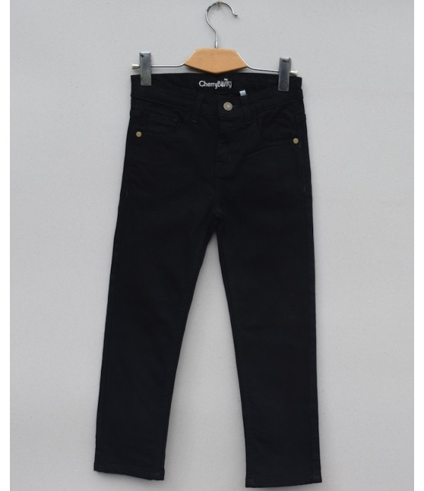 Boys Black Denim Jean (W19D04)