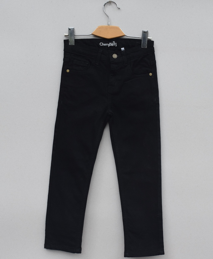 Boys Black Denim Jean (W19D04)