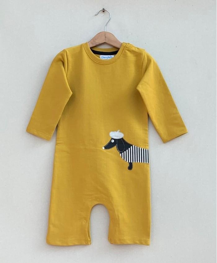 Baby Strips Romper (W19G40)
