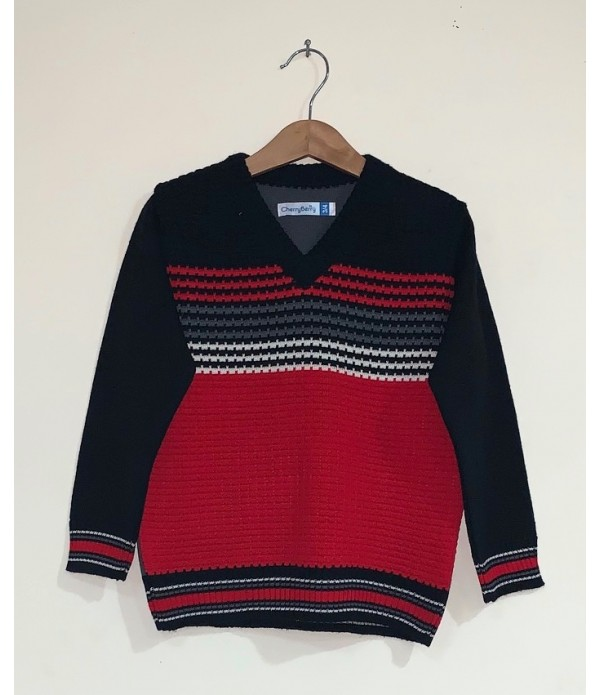 Children Vee Sweater (W19O03)