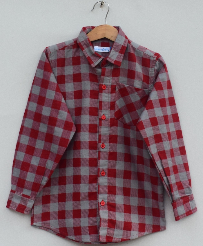 Boys Cotton cotton Shirt (W19S01)