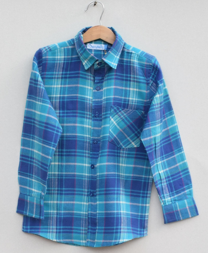 Boys Cotton cotton Shirt (W19S04)
