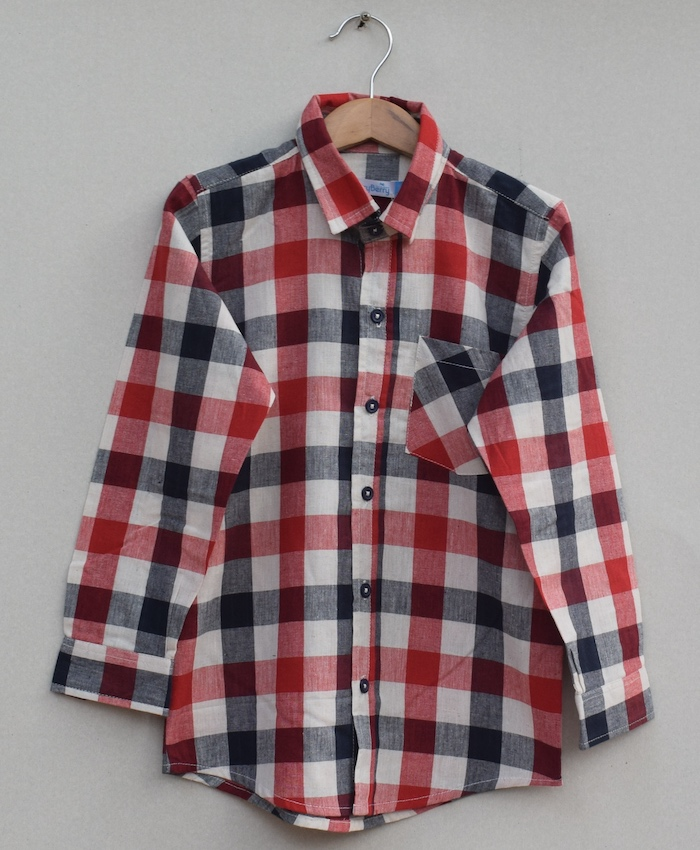 Boys Cotton cotton Shirt (W19S05)