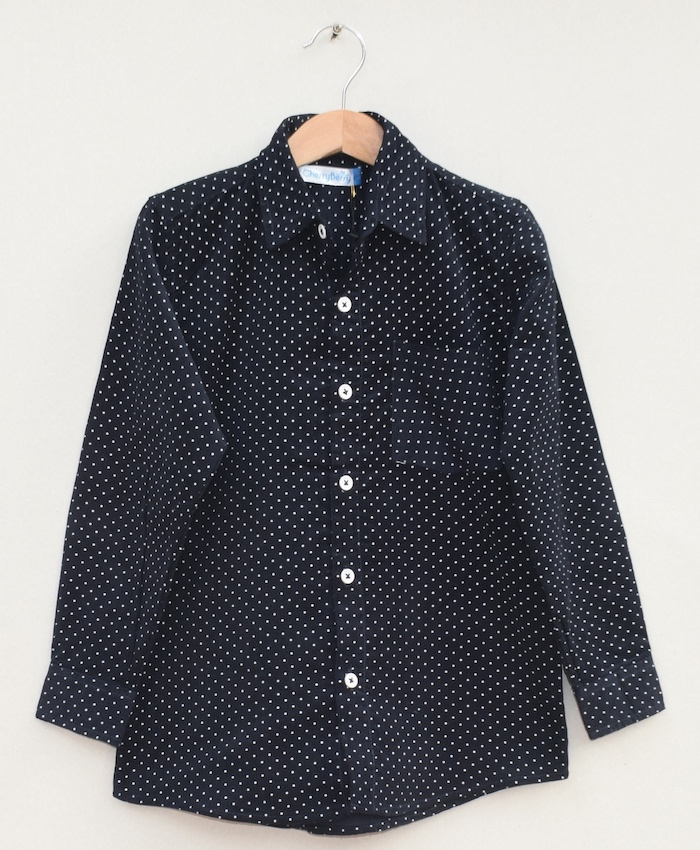 Boys Cotton corduroy Shirt (W19S06)