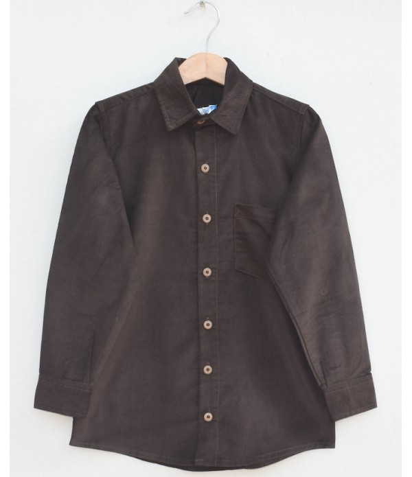 Boys Cotton corduroy Shirt