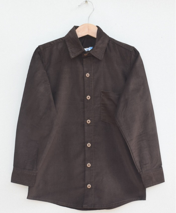 Boys Cotton corduroy Shirt (W19S07)