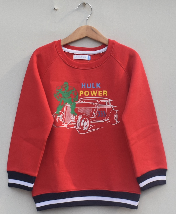 Kids Printed sweatshirt(W19U22)