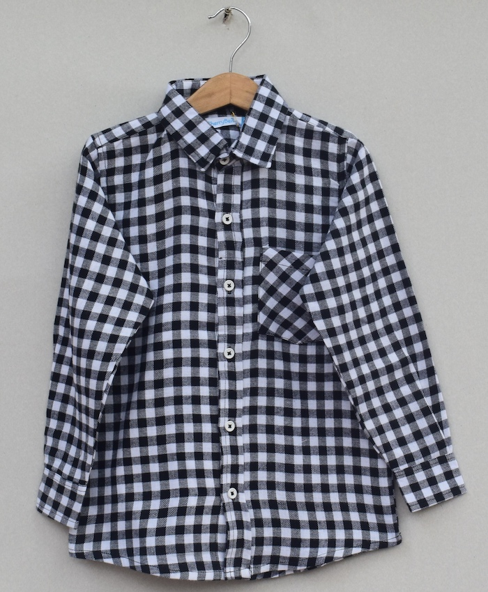 Boys Cotton cotton Shirt (W19S02)