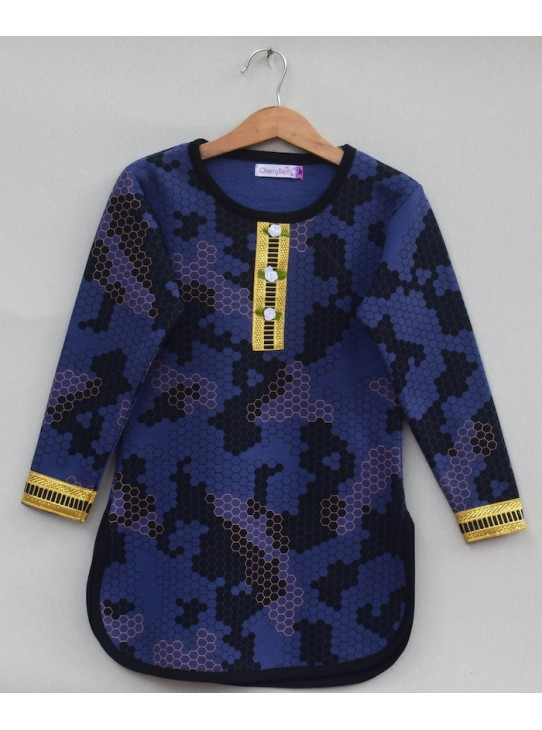 Girls Printed sweatshirt (W19G01)