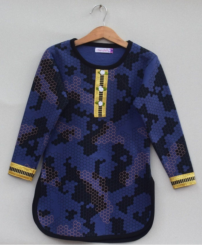Girls Printed sweatshirt (W19G01)