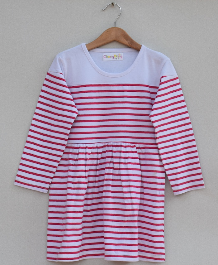 Girls strips T-shirt (W19G03)