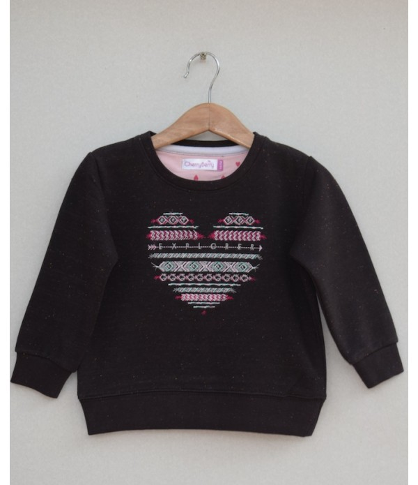 Girls Emb sweatshirt (W19G04)