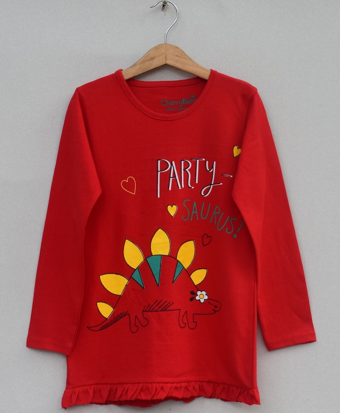 Girls Printed t-shirt (W19G18)