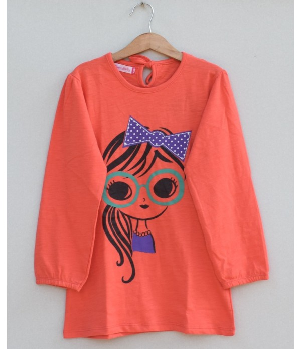 Girls Printed t-shirt (W19G21)