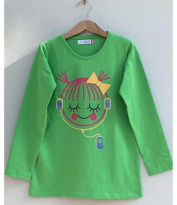 Girls Printed T-shirt (W19G43)