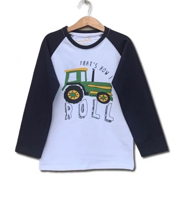 Roller print t-shirt
