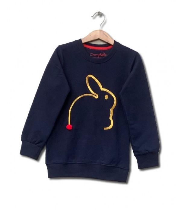 Rabbit Embroidered sweatshirt