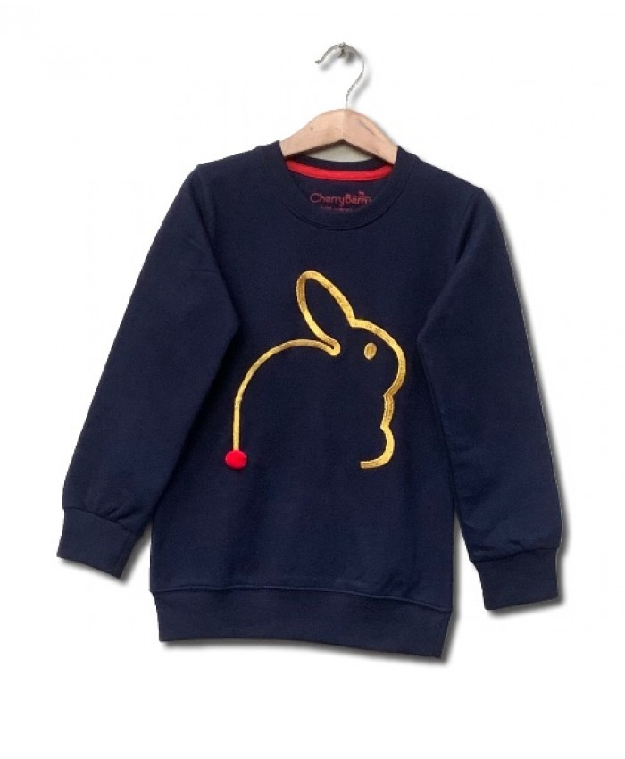 Rabbit Embroidered sweatshirt